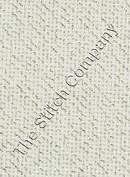 Borduurstof Evenweave 20 count - White/Gold 50 x 45 cm - Übelhör