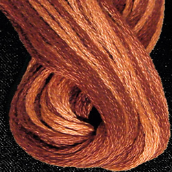 Streng 6-draads Rusted Orange - Valdani