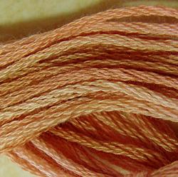 Streng 6-draads Faded Marygold - Valdani