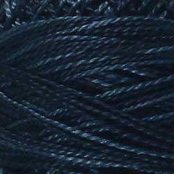 Bol Perlé #8 Darkened Blue - Valdani