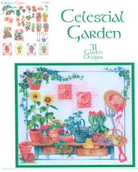 Borduurpatroon Celestial Garden - Vermillion Stitchery