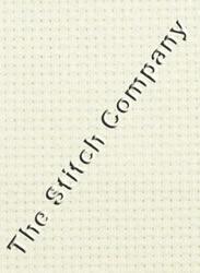 Borduurstof Aida 20 count - White 50 x 55 cm - Zweigart