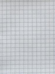 Stoffen Easy Count Brittney Lugana 28 ct, White 50x70 cm - Zweigart