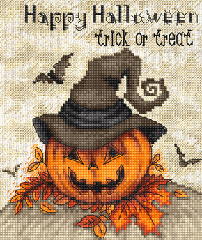 Borduurpakket Trick or Treat - Leti Stitch